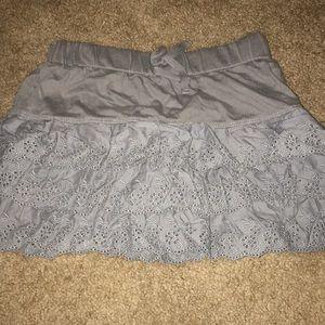 Old Navy Ruffle Girls Mini Skirt